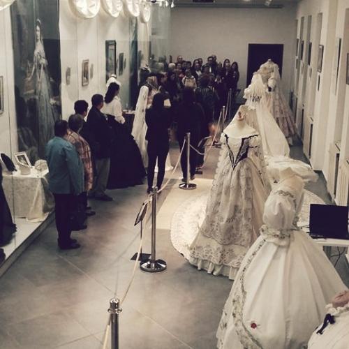 Výstava šiat cisárovnej Sisi